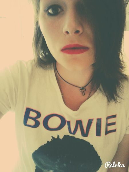 Red Lips Bowie Music