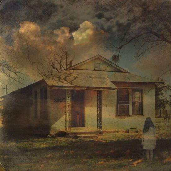 Vintage Dream House Clouds