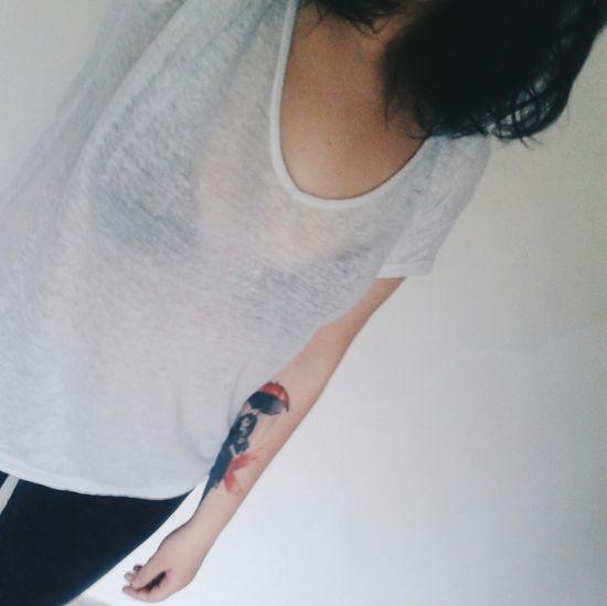 Tattoo Tattoo Girl Brunette Girl Vscogirl Vscotattoo