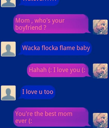 my mom >>> yours (: