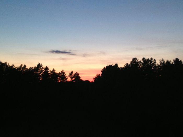 Sunset No Edit/no Filter Masuren