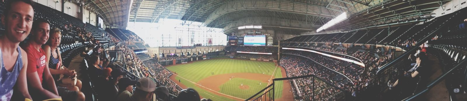 Take me out to the ball game HoustonTexasBaby Being A Tourist