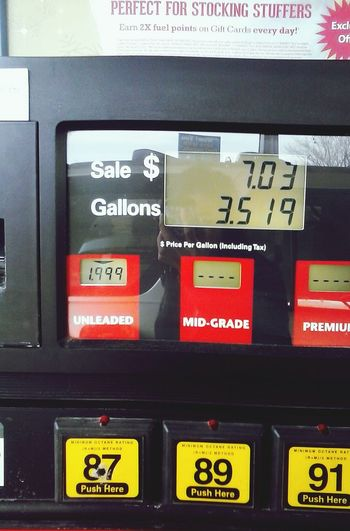 Gas Is Expensive WOW amazing! 1/12/15 unleaded fuel $1.99!