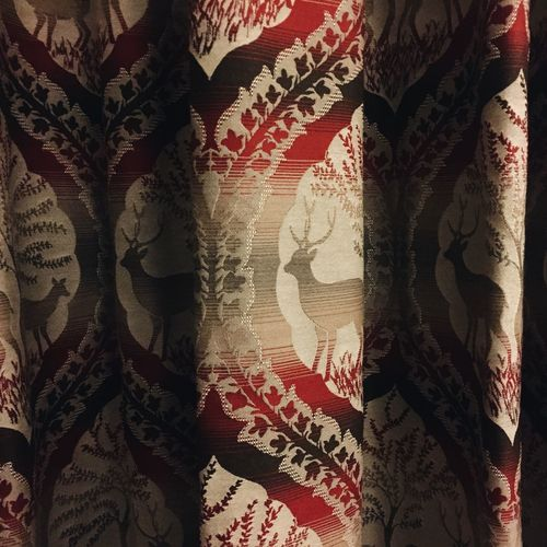 Architectural Feature Art Art And Craft Backgrounds Close-up Creativity Detail Full Frame Home Pattern Red Still Lige Styling Textile Textured