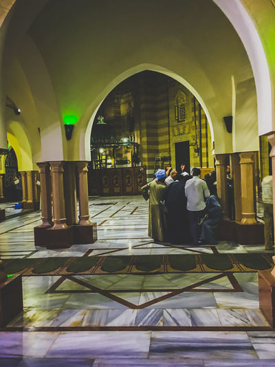 Adult Adults Only Arch Calligraphy Day EyeEm Best Shots Indoors  Islamic Architecture Islamic Art Islamic Backgrounds Men Mosque One Man Only Only Men People Popular Photos Sitting Street Photography Streetphotography Togetherness