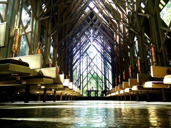 Garvan woodland gardens, anthony chapel, church in the woods The Week On EyeEm