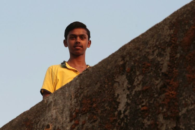 One Person One Man Only Adult Only Men People Outdoors Portrait Day One Young Man Only Adults Only Men Young Adult Lifestyles Sky Human Body Part EyeEm Eyeem India Taking Photos DSLR Photography Travel Photography