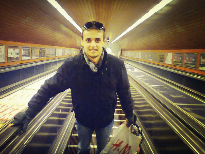 Metro Station Selfportrait Budapest, Hungary