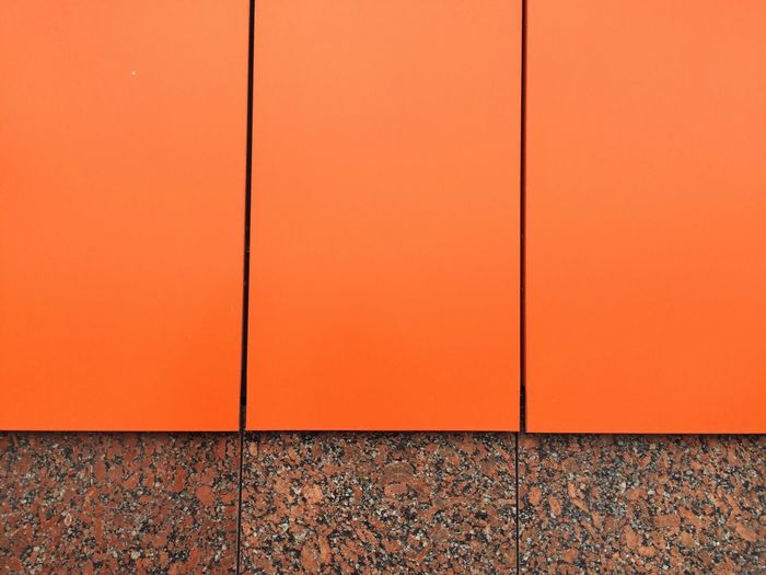 Orange Full Frame Close Up Outdoors Detail Building Wall Colorful Exploring Streetphotography The Graphic City