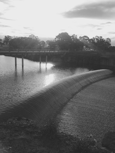 Spillway Water Landscape IPhoneography