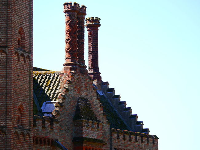 Architecture Building Exterior Built Structure Clear Sky Day History Low Angle View National Trust National Trust 🇬🇧 No People Outdoors Oxburgh Hall Sky Travel Destinations
