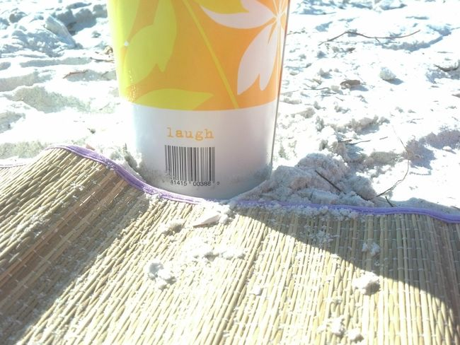 just when I thought I couldn't .. I opened my eyes and looked at my Publix cup ... thanks Publix .....LAUGH Enjoying The Sun