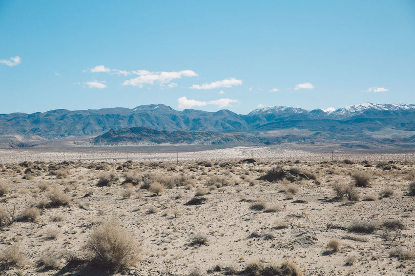 Arid Climate Beauty In Nature Blue Blue Sky CA-190 Cloud - Sky Coso Day Death Valley Desert Landscape Mountain Mountain Range Mountains Nature Nature No People Olancha Outdoors Road Roadtrip Scenics Sky Tranquil Scene Tranquility
