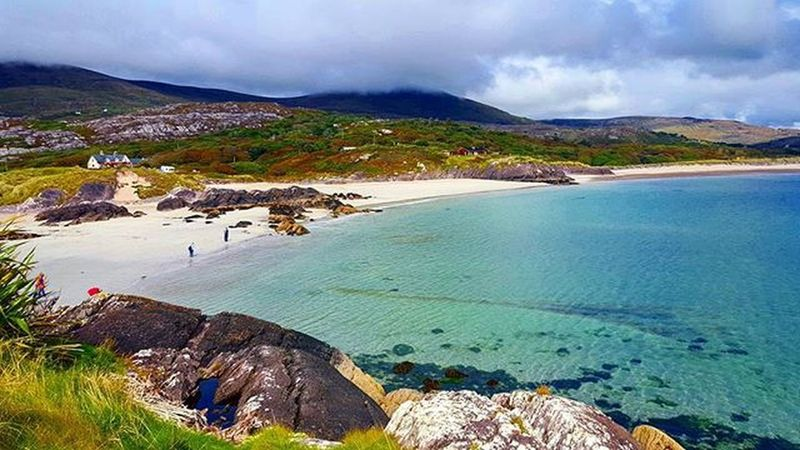 Kerry Ireland Beachlife Beach Countykerryireland Ringofkerry Escape Holiday Holidays Escapeireland Ocean Seaside Insta_ireland Hellokerry Caherdaniel Caherdanielireland Derrynane Summer Irishsummer