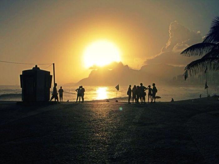 Sunset Sun_collection Beach Skyline