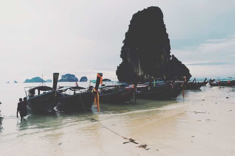 Sea Water Nature Beach Vacations Sky Beauty In Nature Thailand Phuket Igersthailand ASIA Boat Ocean