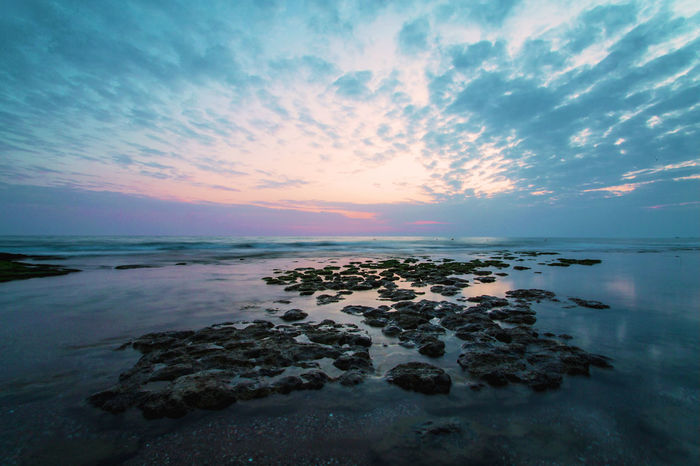 Beach Beauty In Nature Cloud - Sky Day Horizon Over Water Nature No People Outdoors Pebbles Scenics Sea Sky Stones Stones & Water Sunset