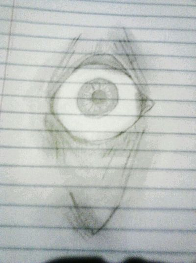 Drew this weird but cool eye <3