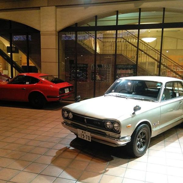 Such beauties. Hakosuka and the fairlady 432 Nissan GTR 240Z
