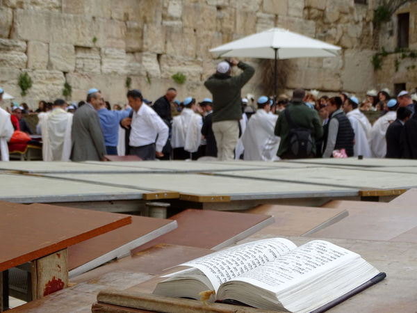 Israel Wailing Wall Western Wall Of Jerusalem Western Wall Kotel Dome Of The Rock Jerusalem Tempel Mount Men Orthodox Jews Orthodox Jews Bar Mitzah Bar Mitzvah