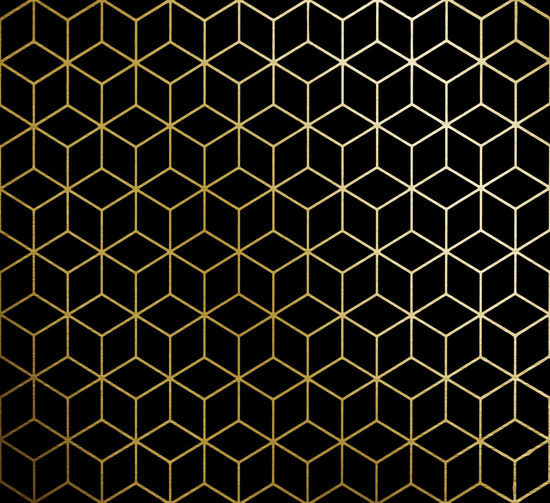 Gold and Black background design Pattern Backgrounds Hexagon Full Frame Shape Grate Geometric Shape Design Repetition Metal No People Grid Metal Grate Close-up Indoors  In A Row Illuminated Modern Brown Electrical Equipment