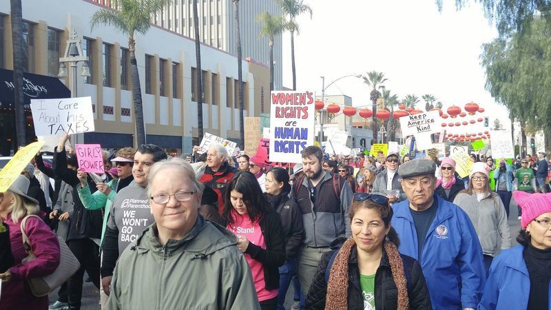 Womens March Riverside Womens March