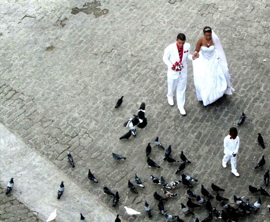 Wedding in old Havanna Eyevision EyeView Havanna, Cuba Wedding Photography Contrast And Lights A Bird's Eye View
