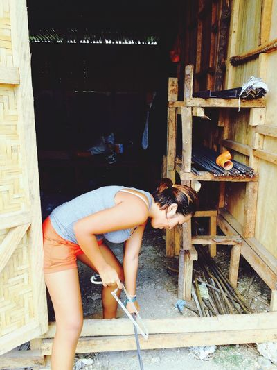 Building My House Effort I Love Philippines