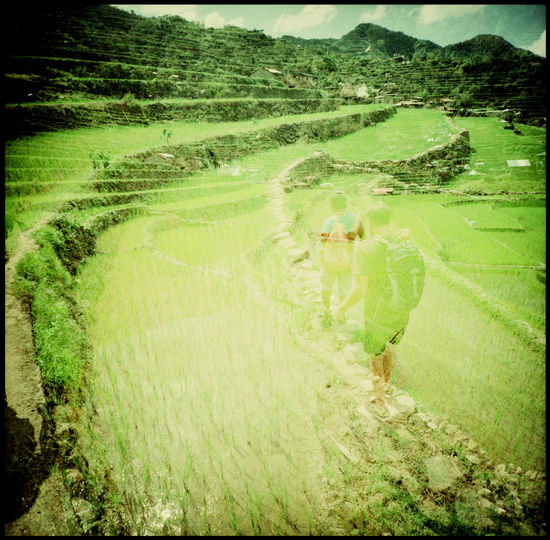 the batad rice terraces and tappiya falls Adventure Agriculture Analogue Photography ASIA Batad Kodak Lomography Medium Format Nature Outdoors Philippines Rice Rice And Mountains Rice Fields  Rice Terraces Tappiya Falls The Great Outdoors - 2017 EyeEm Awards Tourism Waterfall Xpro