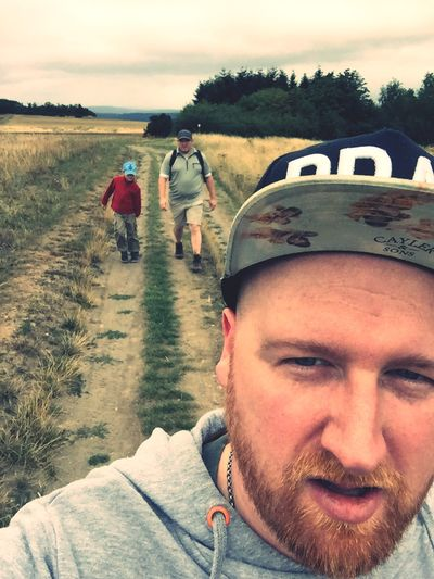 Hiking Wanderlust Selfie Taking Photos Family