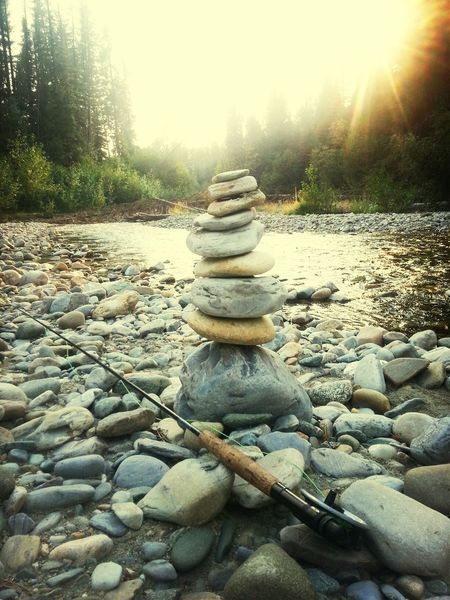 Fishin.. Relaxing Enjoying Life Nature Inuksuk