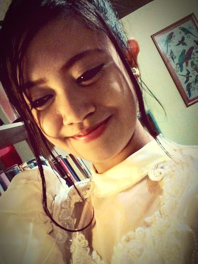Floresdemayo, Reyna Elena, Parade, Having Fun , Beautifulwhitegown, Feelingprettyhaha Iloveeyeem