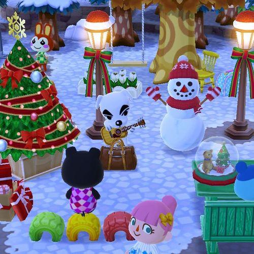 It's Finally Snow ❄️ Videogames Pocket Camp Animal Crossing Animal Representation Multi Colored