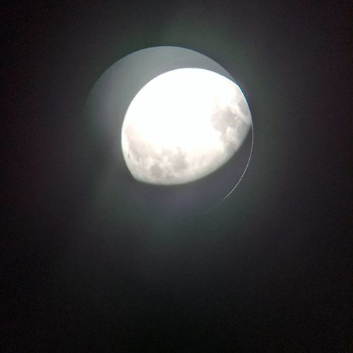 Nofilter Noedit Jamesbond Telephone Line Celestron Moon Night No People Scenics Low Angle View Nature Beauty In Nature Astronomy Outdoors Sky Space