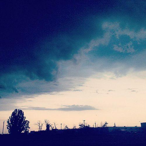 небо тучи облака грозовые_тучи небеса Природа Sky Clouds