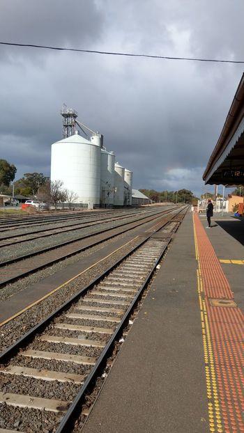City Railroad Track Sky Cloud - Sky