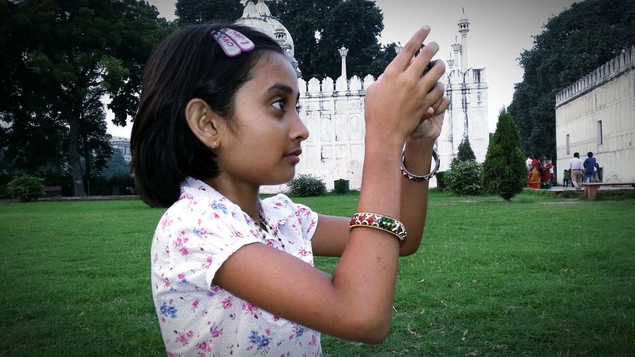 Taking Photo By Mobile with her little hand ... Youth Of Today Mobile Mania Shooting Day Little Happyness Enjoying Life Open Edit EyeEm Gallery Eyeem Best Click Eye4photography  EyeEm Best Shots Eyeem Best Image EyeEmBestPics Eyeem4photography Learn & Shoot: Working To A Brief Getting Inspired Getty Images Check This Out Shooting Time The Purist (no Edit, No Filter) Image Collection
