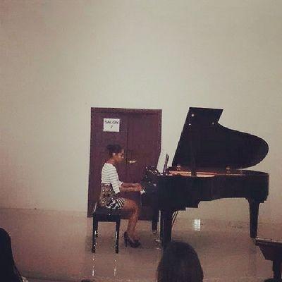 Concierto de piano, amor a la música!