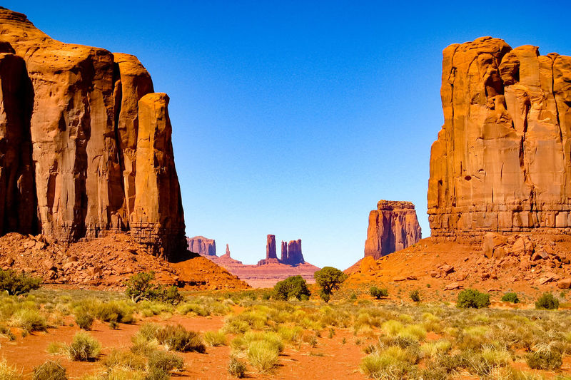 USA Sandstone Rocks Eroded Rocks Rocky Mountains Geological Formations Wind Erosion Scenic Landscapes Sandstone Geological Formation Physical Geography Rocky Landscape Old West  Rock - Object Eroded The Old West Monument Valley Nature Rock Formation Western USA