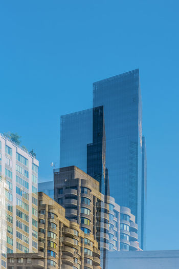 Buildings Architecture NYC Photography Blue Sky Architecture And Art Sky City No People Tall - High