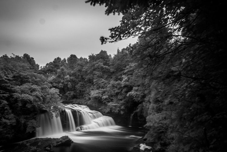 New Lanark Tree Waterfall Motion Water Nature Long Exposure No People Outdoors Scenics Beauty In Nature Day Sky Eyeem Scotland