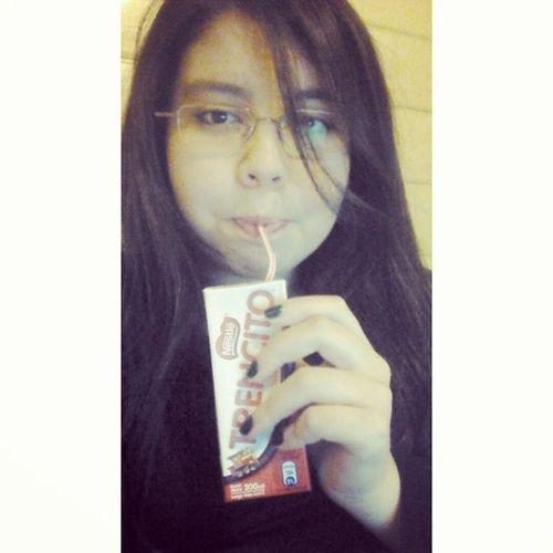 Estudiooo Break Leche Chocolate Trencito Law AmoMiCarrera Selfie tagsforlikes f4f
