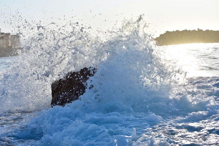 Greece Waves