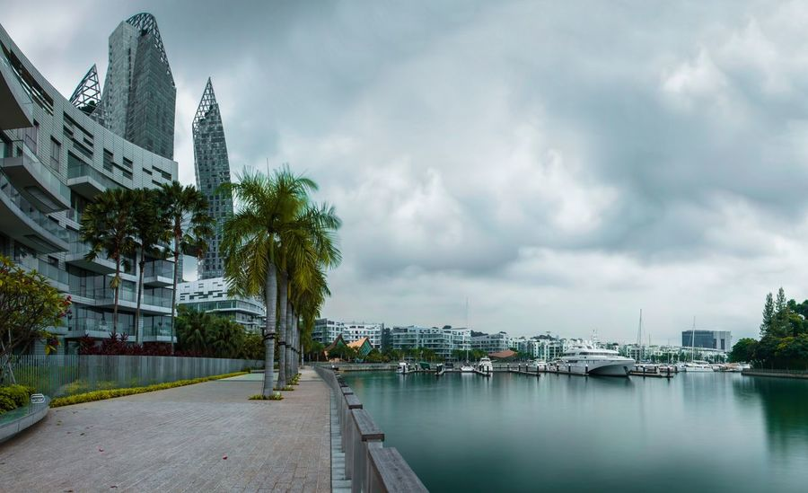 Keppel Bay Keppelbay Reflections Architecturephoto Architectureporn Architecturedesign Architecturephotography Cloudy Cloudyday Panorama Longexposure Longexposureshot Canon Photooftheday Niceplace Photoshoot Photography Yachts Canonshot City Cityscape Water Skyscraper Urban Skyline Modern Storm Cloud Sky Architecture Bridge - Man Made Structure Footbridge
