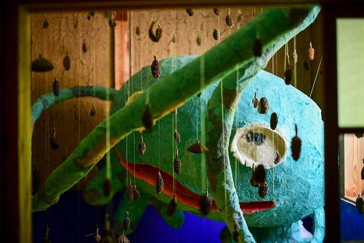 妖怪がおってん。 Green Color No People Close-up Indoors  Nature Auto Post Production Filter Animal