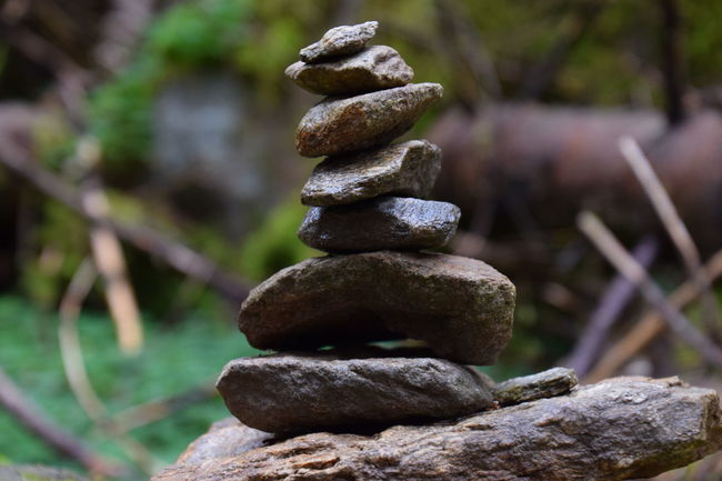 stone Tower 8 Beauty In Nature Close-up Cultures Day Focus On Foreground Nature No People Outdoors Relaxation Stack Stapled Stone Stone - Object Tranquil Scene Tranquility Zen-like