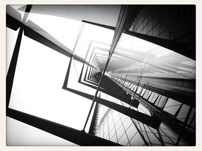 Point of view Mobile Photography Blackandwhite Architecture Urban Exploration