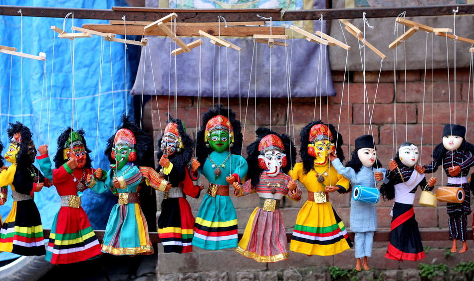 Art Cultural Art Dolls Hanging Human Representation Nepal Nepal Travel Traditional Art