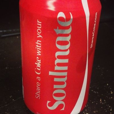 Who wants to be my soulmate? Shareacoke Sharethelove Coke Cocacola soulmate love dailypictures