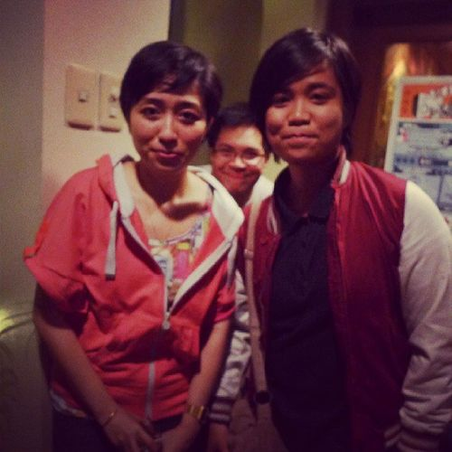 With Armi of Updharmadown and the photobomb guy :)) Instagood Awesome GoodTimes 19east